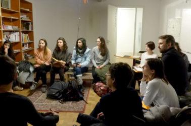 visite de l'institut Sandberg