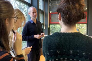 rencontre chez bureau SLA avec Peter van Assche, architecte