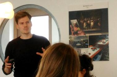 rencontre entre les étudiants d'espace et Jeff Hoekwater du studio NorthernLight