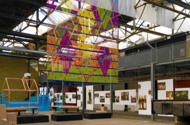 Les ateliers de NDSM dans le quartier Nord qui accueille artiste, designers et artisans
