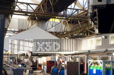 isite de MX3D de Joris Laarman qui construit le premier pont échelle 1 impression 3D d'acier
