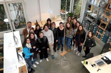 Rencontre au studio FORMA FANTASMA avec Daniele et tous les étudiants en Produit