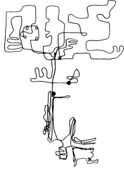 le tracé du robot aspirateur